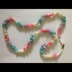 Coral Beach matinee Necklace